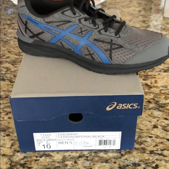 best website 3498a dd437 Men's ASICS Endurant running shoes 10 NWT